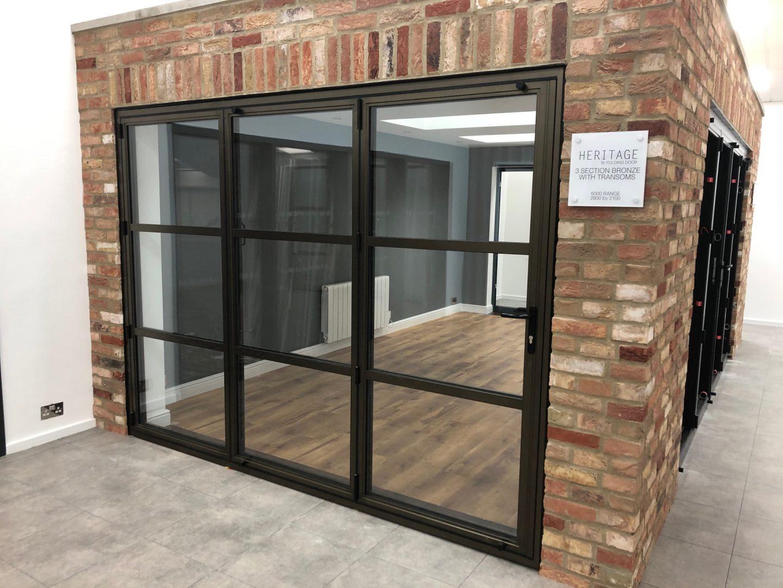 critical bifolding door