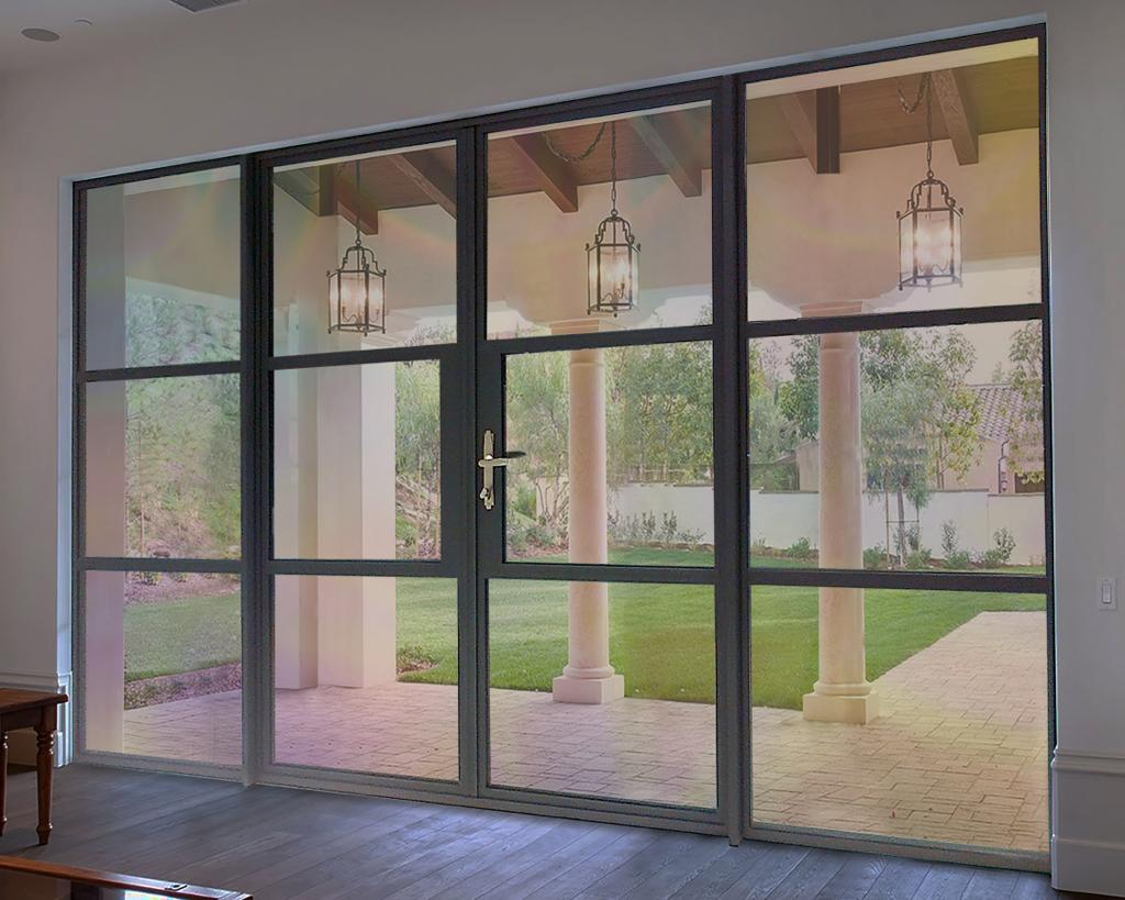 heritage French doors crittal style