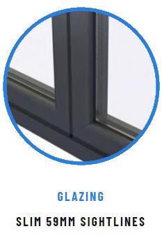 ultra slim aluminium windows