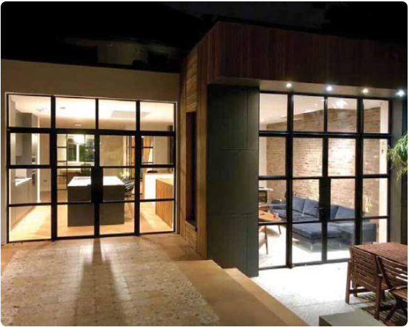 heritage critical effect French doors